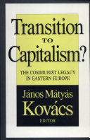Transition to Capitalism? Pdf/ePub eBook