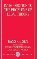 Introduction to the Problems of Legal Theory