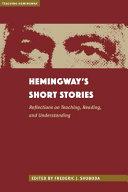 Hemingway s Short Stories