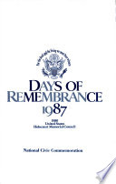 Days of Remembrance  1987