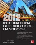 2012 International Building Code Handbook Book