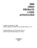 Ohio Probate Code  Annotated