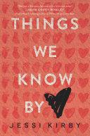 Things We Know by Heart Pdf/ePub eBook