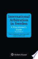 International Arbitration in Sweden