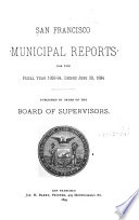 San Francisco Municipal Reports