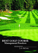 Best Golf Course Management Practices Book
