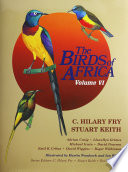 The Birds Of Africa Volume Vi