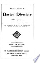 Williams' Dayton Directory for ..