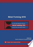 Metal Forming 2016