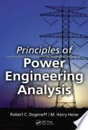 Principles of Power Engineering Analysis
