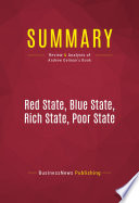 Summary  Red State  Blue State  Rich State  Poor State