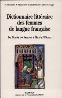 Dictionnaire littéraire des femmes de langue française
