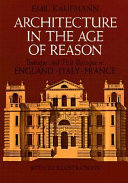 Architecture in the Age of Reason