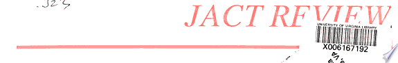 JACT Review