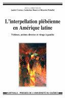 Pdf L'interpellation plébéienne en Amérique latine Telecharger
