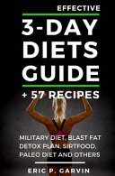 Effective 3 Day Diets Guide 57 Recipes