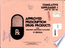 Approved Prescription Drug Products