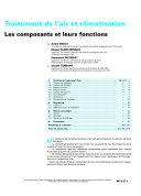 Traitement De L'air Et Climatisation ebook