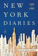 New York Diaries  1609 to 2009