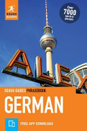 German   Rough Guide Phrasebook