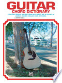 Guitar Chord Dictionary Book