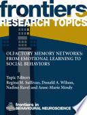 Olfactory memory networks: from emotional learning to social behaviors