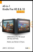 Pdf All-in-1 Kindle Fire HD 8 & 10 User Guide