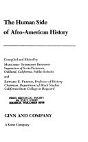 The Human Side Of Afro American History