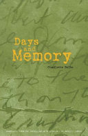 Pdf Days and Memory