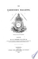 The Gardener S Magazine And Register Of Rural And Domestic Improvement