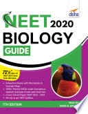 """NEET 2020 Biology Guide 7th Edition"" by Disha Experts"