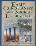 Early Christianity and Its Sacred Literature Book