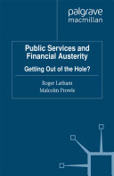 Public Services and Financial Austerity ebook