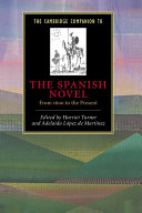 The Cambridge Companion to the Spanish Novel ebook