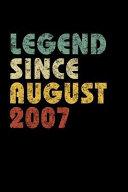 Legend Since August 2007