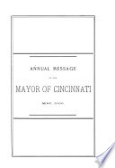 Annual Reports of the City Departments of the City of Cincinnati