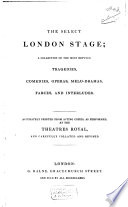 The Select London Stage Pdf/ePub eBook