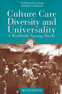 Culture Care Diversity & Universality