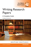 Writing Research Papers  A Complete Guide  Global Edition Book