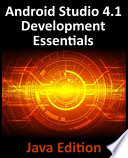 Android Studio 4.1 Development Essentials - Java Edition
