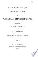 Chamber S Household Edition Of The Dramatic Works Of William Shakespeare