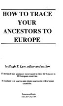 How to Trace Your Ancestors to Europe