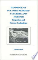 Handbook of Polymer Modified Concrete and Mortars
