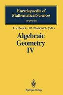 Algebraic Geometry Iv