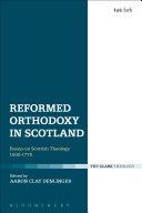 Reformed Orthodoxy in Scotland Pdf/ePub eBook