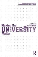 Making the University Matter