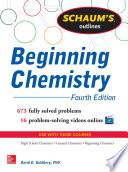 Schaum s Outline of Beginning Chemistry