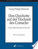Don Quichotte auf der Hochzeit des Comacho