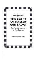 The Egypt Of Nasser And Sadat The Political Economy of Two Regimes