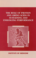 Pdf The Role of Protein and Amino Acids in Sustaining and Enhancing Performance Telecharger